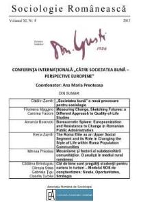 Coperta Sociologie Românească 4/2013